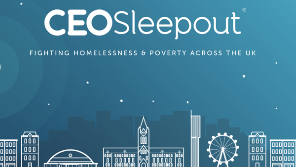 CEO Sponsored Sleepout Manchester